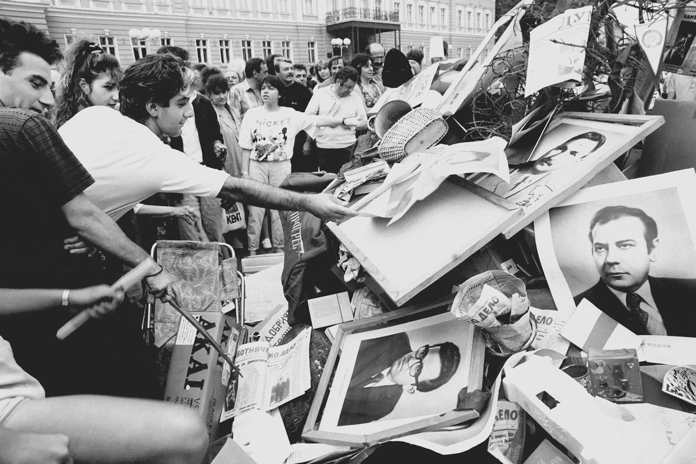 20-21.07.1990 BULGARIA FOT. TOMASZ WIERZEJSKI / AGENCJA GAZETA