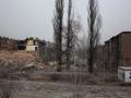 21.12.2011 Bytom, rozbiórka domów w dzielnicy Karb. Szkody górnicze nieodwracalnie zniszczyły budynki. Fot. Piotr Wójcik